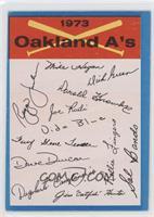 Oakland A's [GoodtoVG‑EX]