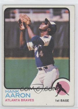 1973 Topps #100 - Hank Aaron