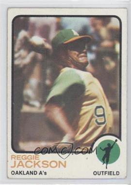 1973 Topps #255 - Reggie Jackson