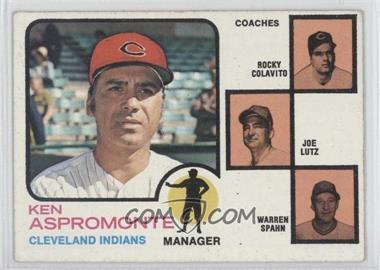 1973 Topps #449 - Ken Ash [GoodtoVG‑EX]