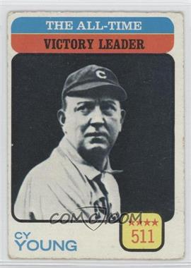1973 Topps #477 - Cy Young