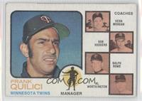 Twins Coaches (Frank Quilici, Vern Morgan, Bob Rodgers, Ralph Rowe, Al Worthing…