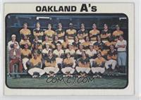 Oakland Athletics Team