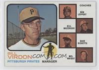 Bill Virdon, Don Leppert, Bill Mazeroski, Dave Ricketts, Mel Wright (Mazeroski …