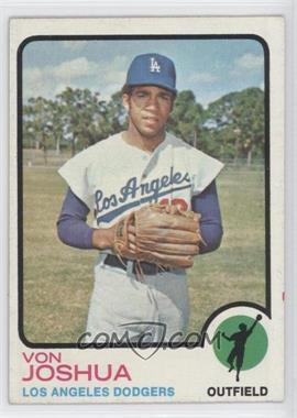 1973 Topps #544 - Von Joshua