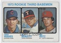 Rookie Third Basemen (Terry Hughes, Bill McNulty, Ken Reitz) [Goodto&nbsp…