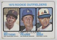 Rookie Outfielders (Gary Matthews, Tom Paciorek, Jorge Roque) [Goodto&nbs…