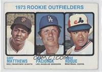 Rookie Outfielders (Gary Matthews, Tom Paciorek, Jorge Roque) [Good to&nbs…
