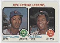 1972 Batting Leaders (Billy Williams, Rod Carew) [GoodtoVG‑EX]