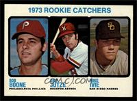 1973 Rookie Catchers (Bob Boone, Skip Jutze, Mike Ivie) [NM MT]