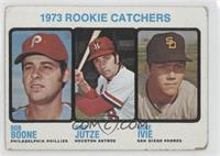 1973 Rookie Catchers (Bob Boone, Skip Jutze, Mike Ivie) [PoortoFair]