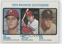 1973 Rookie Catchers (Bob Boone, Skip Jutze, Mike Ivie) [Good to VG&#…