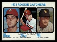 1973 Rookie Catchers (Bob Boone, Skip Jutze, Mike Ivie) [NM]