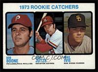 1973 Rookie Catchers (Bob Boone, Skip Jutze, Mike Ivie) [EX MT]