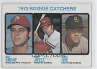1973 Rookie Catchers (Bob Boone, Skip Jutze, Mike Ivie)
