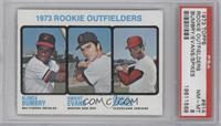 1973 Rookie Outfielders (Alonza Bumbry, Dwight Evans, Charlie Spikes) [PSA&nbsp…