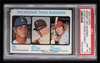 1973 Rookie Third Basemen (Ron Cey, John Hilton, Mike Schmidt) [PSA8]