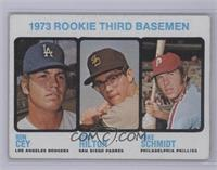 1973 Rookie Third Basemen (Ron Cey, John Hilton, Mike Schmidt) [Good]
