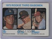 1973 Rookie Third Basemen (Ron Cey, John Hilton, Mike Schmidt) [Poor]