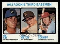 1973 Rookie Third Basemen (Ron Cey, John Hilton, Mike Schmidt) [EX]