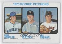 Norm Angelini, Steve Blass, Mike Garman [GoodtoVG‑EX]