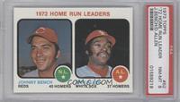 1972 Home Run Leaders (Johnny Bench, Dick Allen) [PSA8]