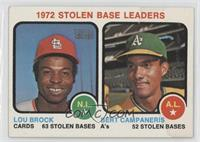 Lou Brock, Bert Campaneris [Poor to Fair]