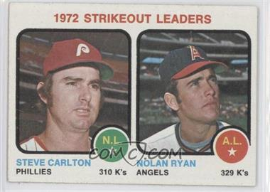 1973 Topps #67 - Steve Carlton, Nolan Ryan