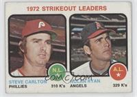 Steve Carlton, Nolan Ryan [Good to VG‑EX]