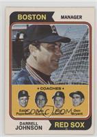 Darrell Johnson, Eddie Popowski, Lee Stange, Don Zimmer, Don Bryant [Good…