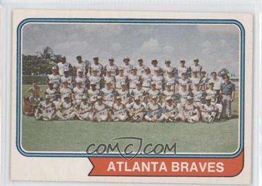 1974 O-Pee-Chee #483 - Atlanta Braves Team