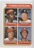 Ed Armbrister, Rich Bladt, Brian Downing, Bake McBride