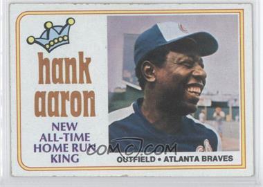 1974 Topps - [Base] #1 - Hank Aaron