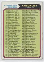 Checklist Cards 1-132