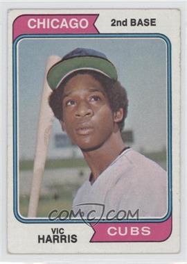 1974 Topps - [Base] #157 - Vic Harris
