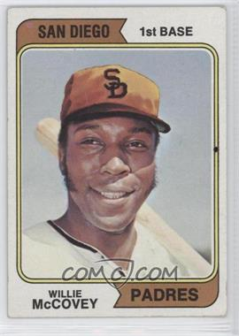 1974 Topps - [Base] #250.1 - Willie McCovey (San Diego)