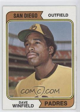 1974 Topps - [Base] #456 - Dave Winfield