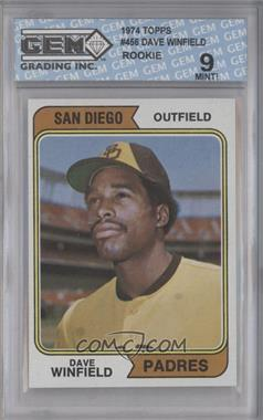 1974 Topps - [Base] #456 - Dave Winfield [ENCASED]