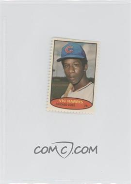 1974 Topps Stamps #VIHA - Vic Harris
