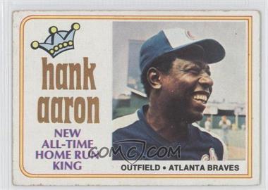1974 Topps #1 - Hank Aaron