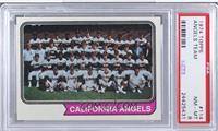 California Angels Team [PSA8]