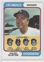Dodgers Coaches (Walter Alston, Tom Lasorda, Jim Gilliam, Red Adams, Monty Basg…
