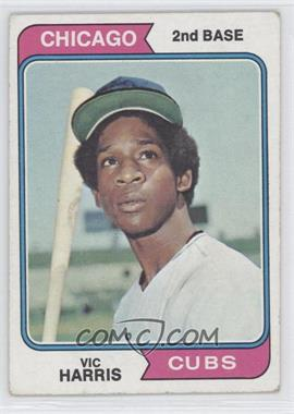 1974 Topps #157 - Vic Harris