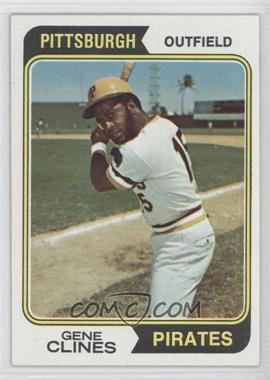 1974 Topps #172 - Gene Clines