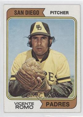 1974 Topps #197.1 - Vicente Romo (San Diego) [GoodtoVG‑EX]