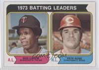 1973 Batting Leaders (Rod Carew, Pete Rose)