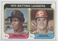 1973 Batting Leaders (Rod Carew, Pete Rose) [GoodtoVG‑EX]