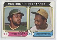 Reggie Jackson, Willie Stargell