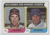 1973 Earned Run Average Leaders (Jim Palmer, Tom Seaver)