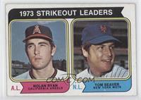 1973 Strikeout Leaders (Nolan Ryan, Tom Seaver) [GoodtoVG‑EX]
